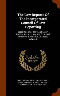 The Law Reports of the Incorporated Council of Law Reporting image
