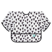 Bumkins: Waterproof Sleeved Bib - Hearts