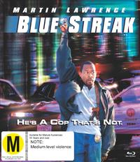 Blue Streak on Blu-ray