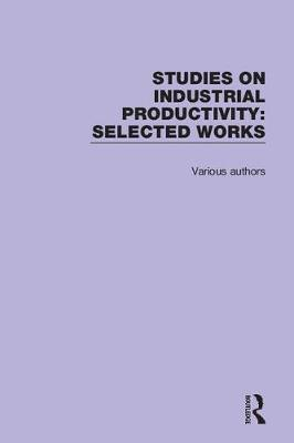 Studies on Industrial Productivity by Various Authors image
