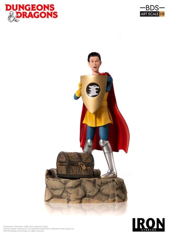 D&D (TV): Eric the Cavalier - 1:10 Art Scale Statue