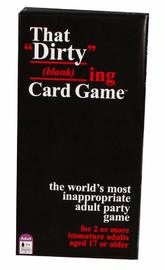 The Dirty Blanking Card Game - Adult Party Game