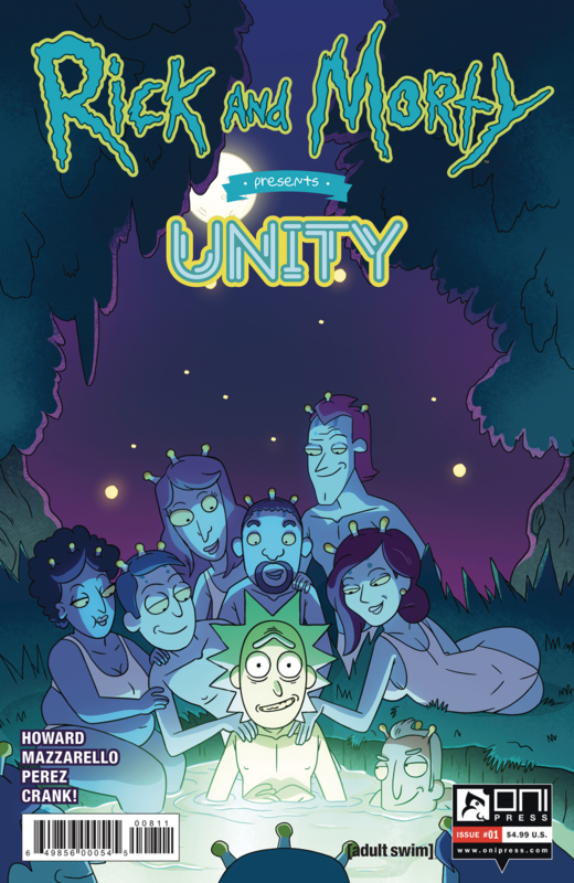 Rick & Morty: Presents Unity - #1 (Cover A) by Tini Howard