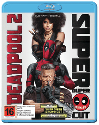 Deadpool 2 on Blu-ray, DC image