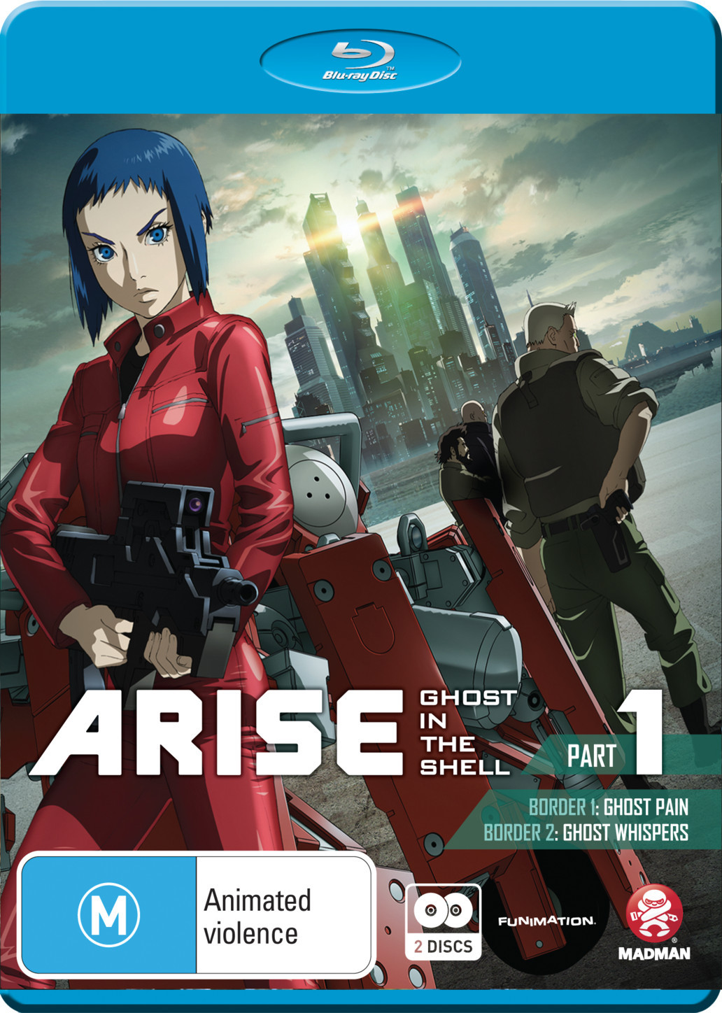 Ghost In The Shell Arise - Part 1 on Blu-ray image
