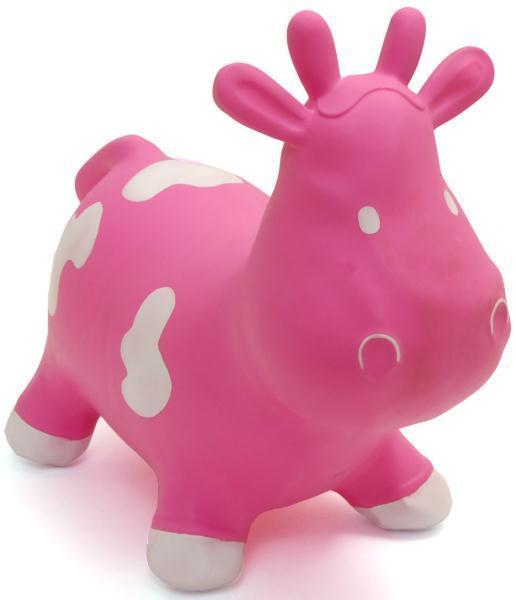 Happy Hopperz - Pink Cow (Small)