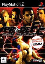 Pride FC for PS2