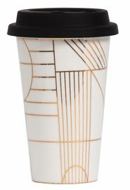 General Eclectic Takeaway Cup - Gold Deco