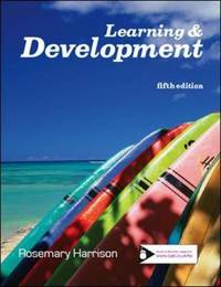 Learning and Development by Rosemary Harrison
