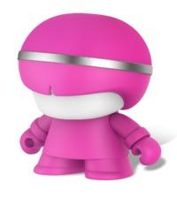"""Xoopar Boy: 3"""" Bluetooth Speaker - Matt Pink"""