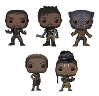 Black Panther - Pop! Vinyl Bundle (with chances for Chase versions!)