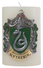Harry Potter: Sculpted Insignia Candle - Slytherin