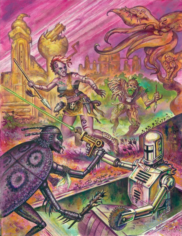 Mutant Crawl Classics RPG: #0 Judge's Screen