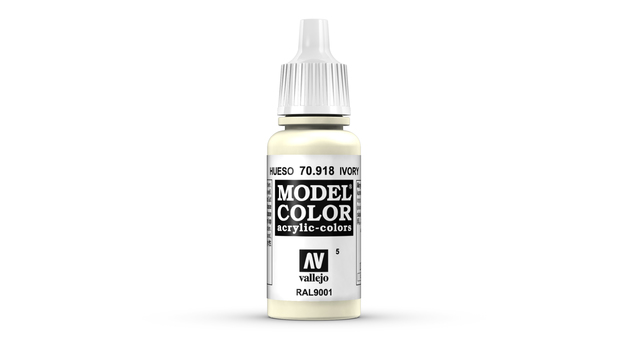 Vallejo Model Colour Ivory 17ml
