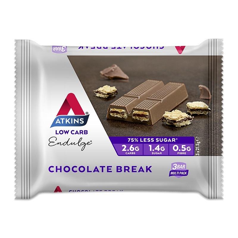 Atkins Endulge Bars - Chocolate Break Multipack (3 x 21g) image
