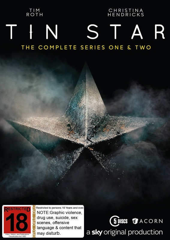 Tin Star - The Complete Series One And Series Two on DVD