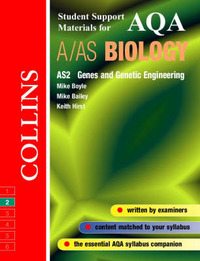 AQA (B) Biology: Genes and Genetic Engineering by Michael D.P. Boyle image