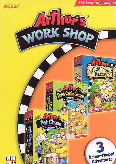Arthur's Workshop (3 Pack) for PC Games