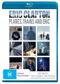 Eric Clapton - Planes, Trains and Eric on Blu-ray