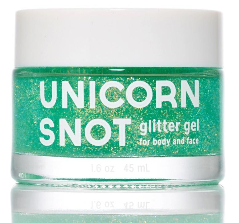 Unicorn Snot: Body Glitter Gel - Green image