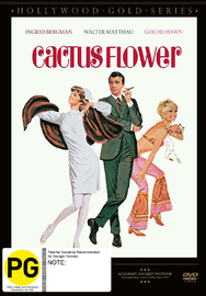 Cactus Flower on DVD