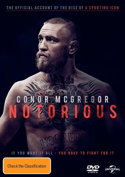 Conor Mcgregor - Notorious on DVD image