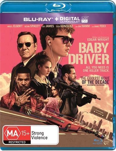 Baby Driver on Blu-ray, UV image