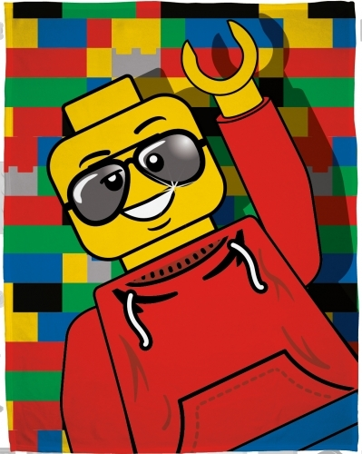 Lego Classic Fleece Blanket