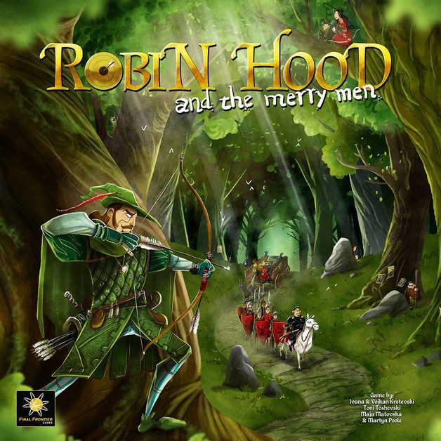 Robin Hood & The Merry Men - Board Game