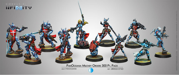 Infinity: Panoceania Military Orders 300 PT. Pack