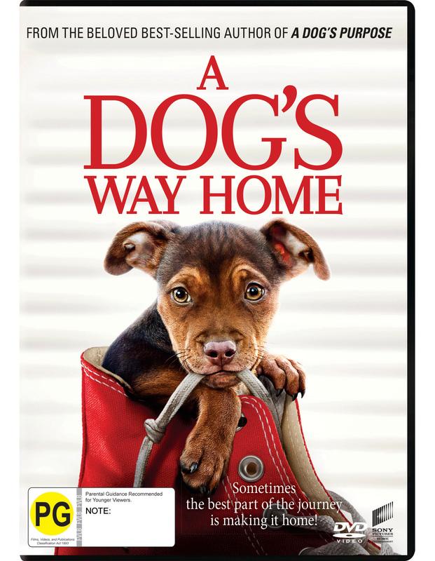 A Dog's Way Home on DVD