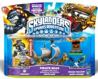 Skylanders Spyro's Adventure Pirates Seas Adventure Pack (All Formats) for Wii