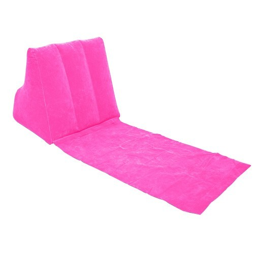 Wickedwedge Inflatable Lounger Pink At Mighty Ape