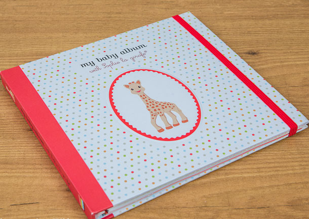 My Baby Album with Sophie La Girafe by Sophie La Girafe image