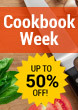 Cookbook Week Up to 50% Off Selected Cookbooks