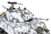 Tamiya 1/35 M4A3 Sherman 105mm Howitzer Assault Support - Model Kit image