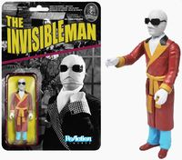 Universal Monsters - The Invisible Man ReAction Figure