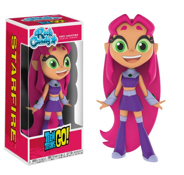 Teen Titans Go! Starfire - Rock Candy Vinyl Figure