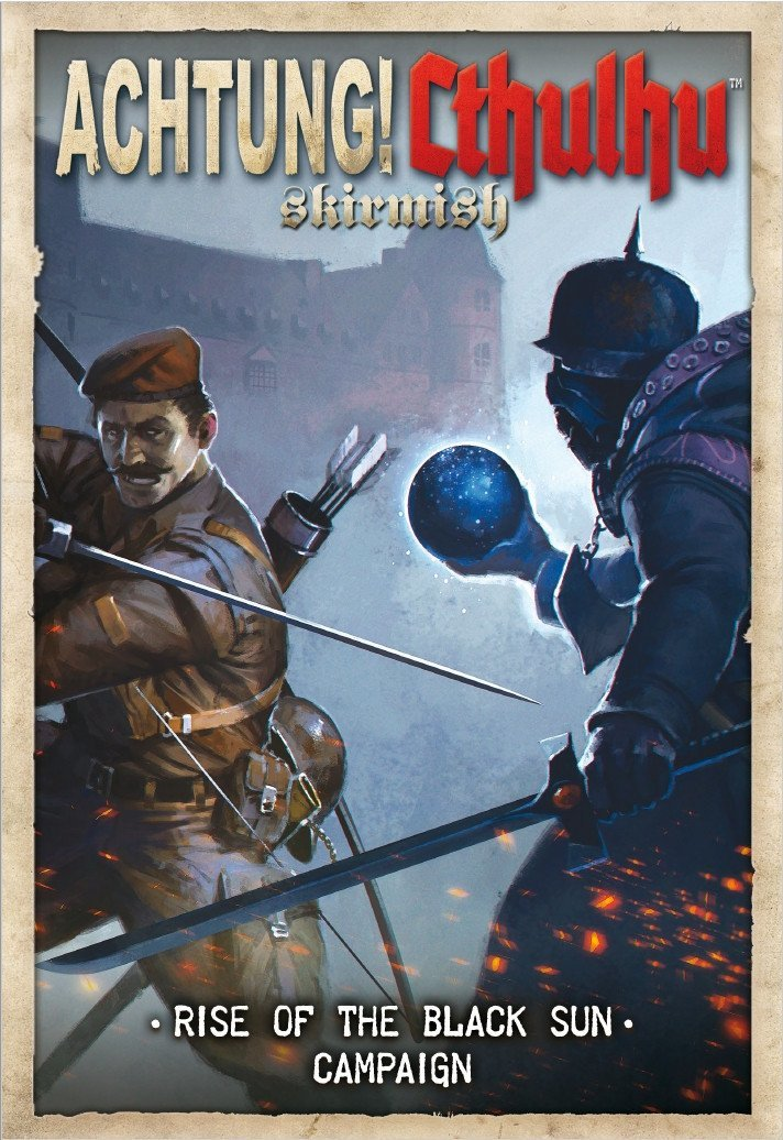 Achtung! Cthulhu RPG: Rise of the Black Sun - Campaign Module image