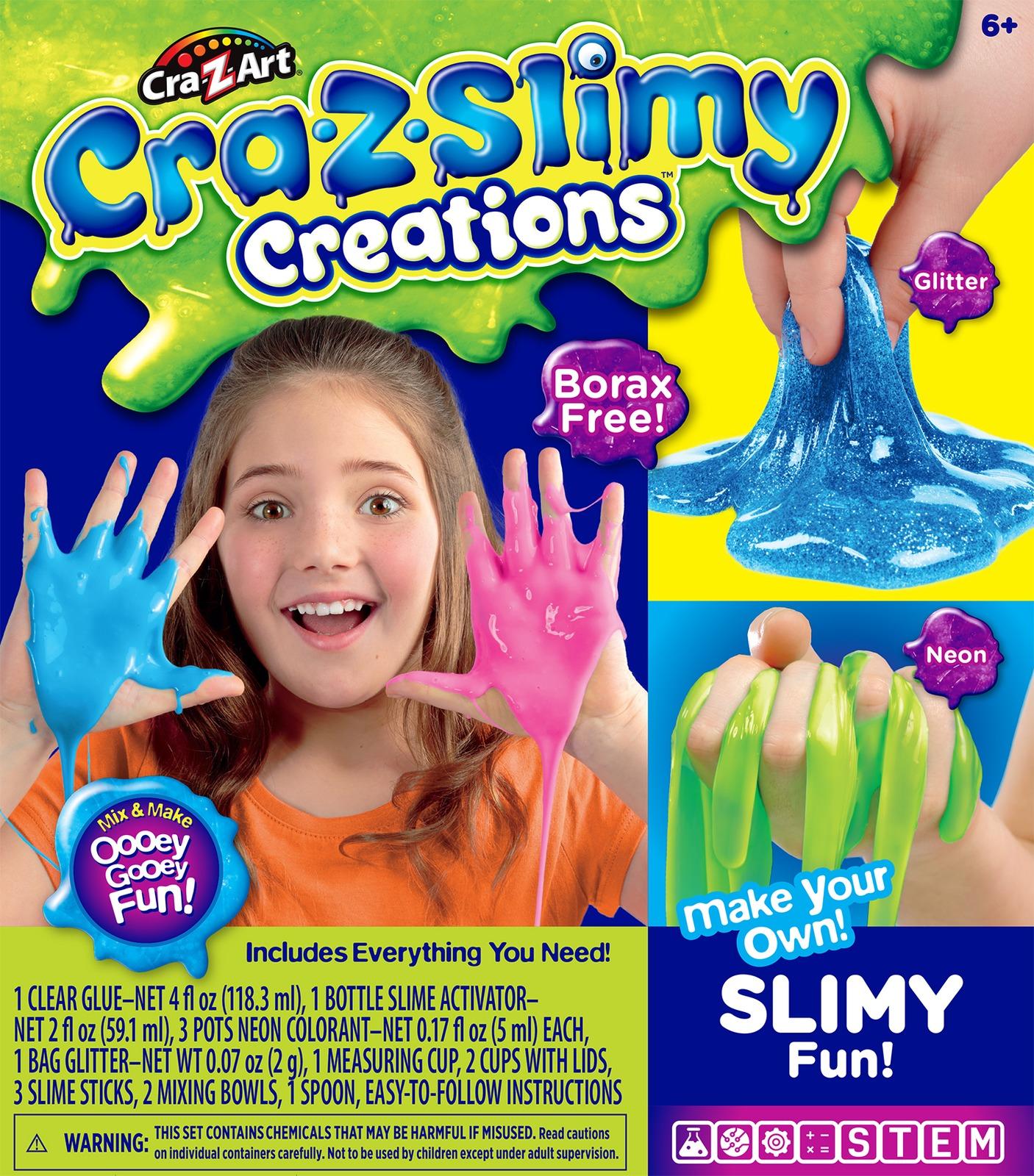 Cra-z-slimy Creations: Slime Making Kit - Glitter image