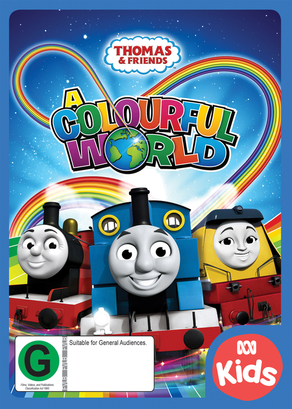 Thomas & Friends: A Colourful World on DVD