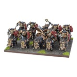 Kings of War Abyssal Dwarf Slave Orc Gore Rider regiment