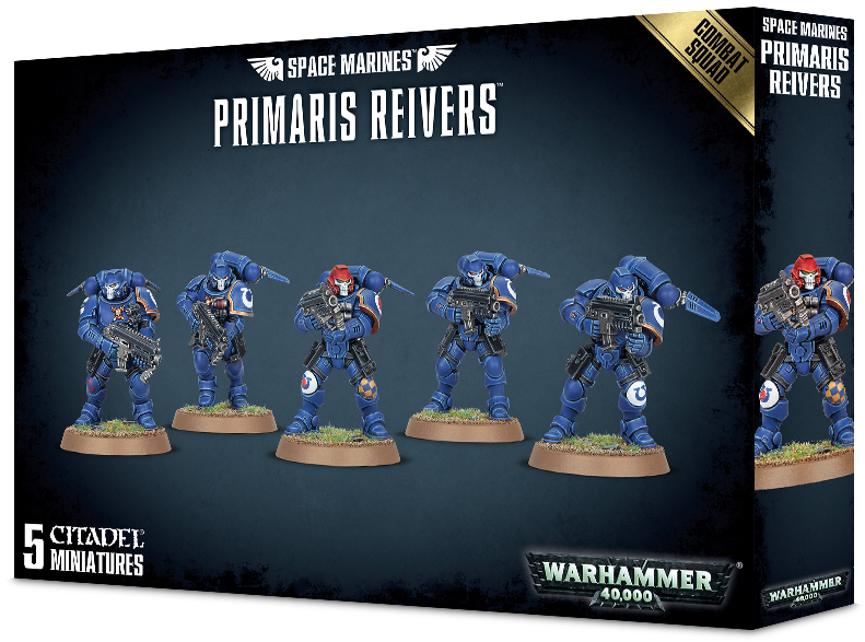 Warhammer 40,000: Space Marines Primaris Reivers Combat Squad image