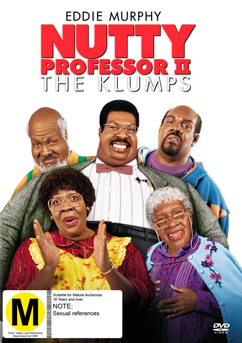 Nutty Professor II: The Klumps on DVD image