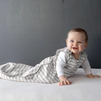 Woolbabe: 3 Seasons Side Zip - Pebble (3-24 Months) image