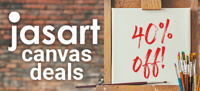 40% off Jasart Canvas