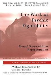 The Work of Psychic Figurability by Sara Botella