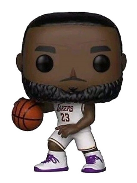 best website 00501 b8749 Lebron James (White Uniform) - Pop! Vinyl Figure | at Mighty ...