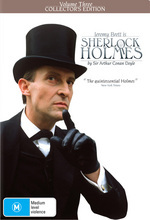 Sherlock Holmes (1984) - Vol. 3: Collector's Edition (3 Disc Box Set) on DVD