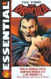 Essential Tomb of Dracula: v. 2 by Marv Wolfman image